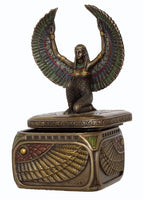 Isis Trinket Box  ~ bronze statue