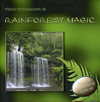 rain forest magic, Tony O'Conner, meditation, music -  Lylliths Emporium, wicca pagan witchcraft spiritual supplies Australia