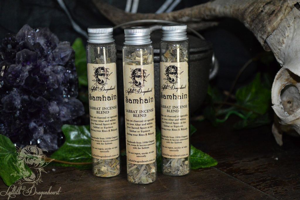 Samhain incense sabbat blends