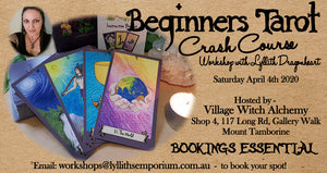 Beginners Tarot - Crash Course Workshop