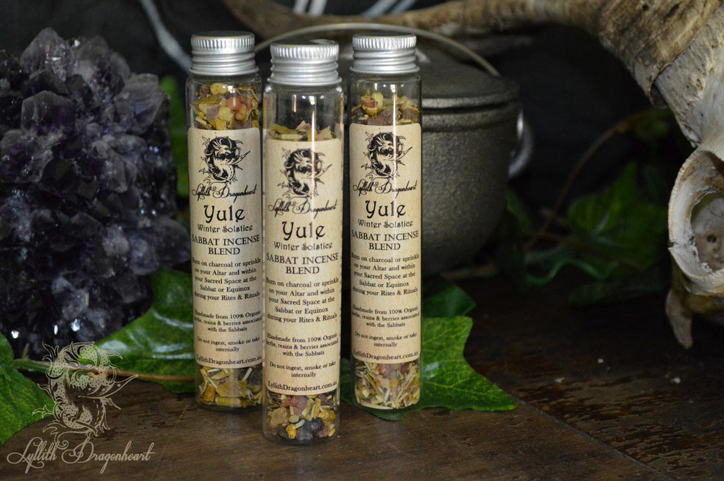 Yule incense sabbat blends