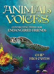 Animal voices, oracle deck, tarot, Chip Richards -  Lylliths Emporium, wicca pagan witchcraft spiritual supplies Australia