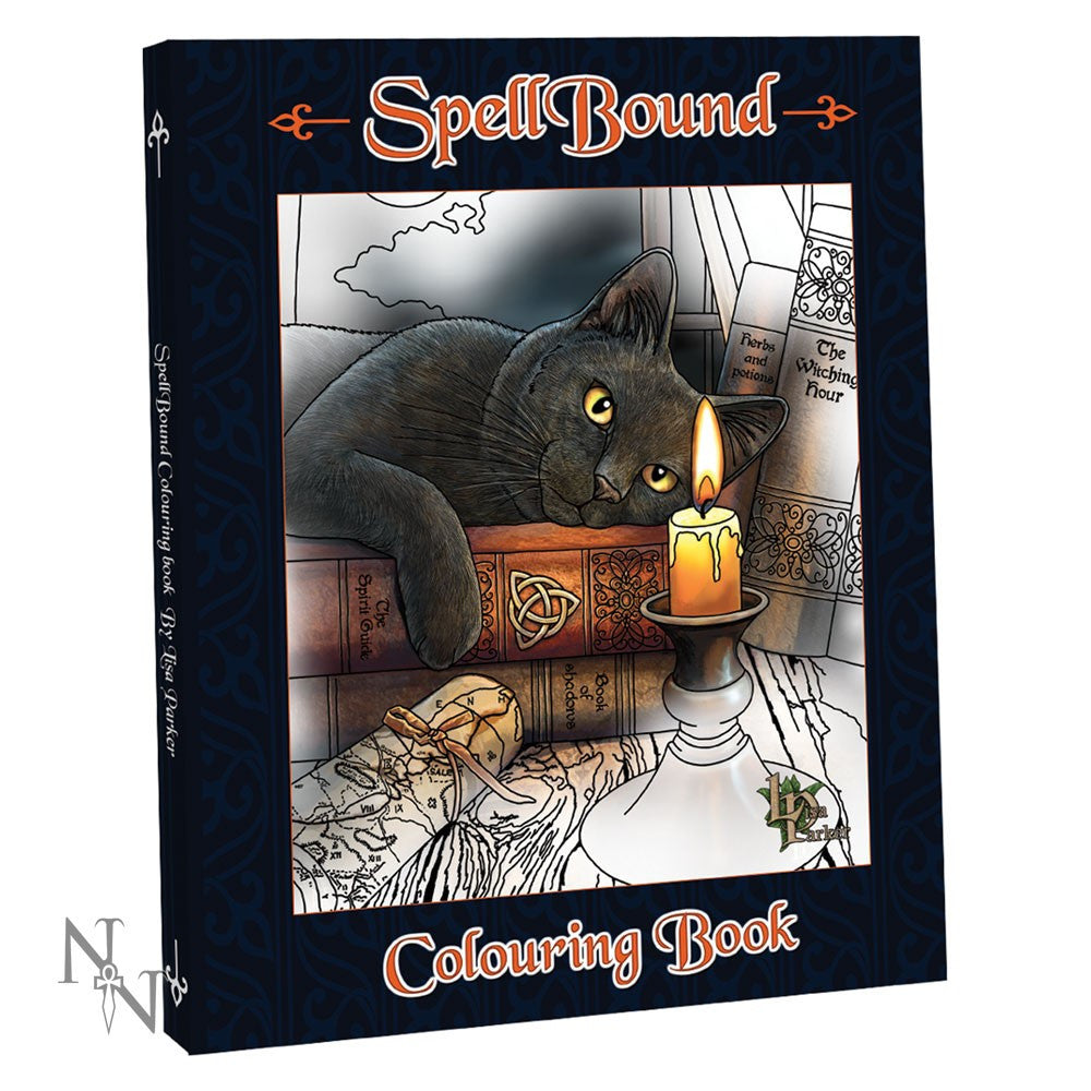colouring book, Lisa Parker, book, spell -  Lylliths Emporium, wicca pagan witchcraft spiritual supplies Australia