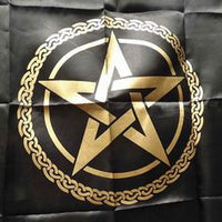 Altar Cloth - Large Pentagram