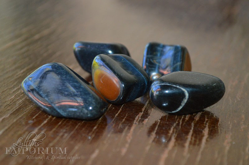 Tiger Eye - Blue (and Hawks Eye)