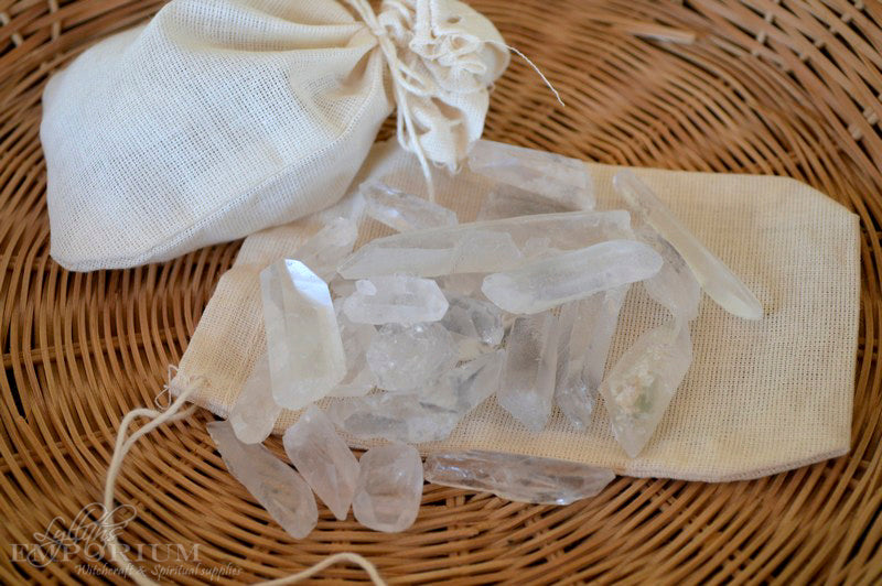 Clear Quartz gridding crystals
