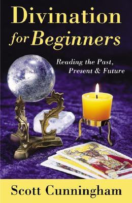 Divination for beginners book, Scott Cunningham -  Lylliths Emporium, wicca pagan witchcraft spiritual supplies Australia