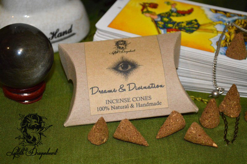 Dreams, Visions & Psychic Work Incense Cones