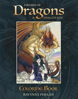 Dreams of Dragons - Colouring Book