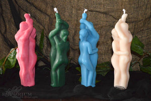 Figure Candle ~ Lovers Couple