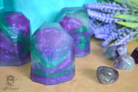 Fluorite - Gemstone Soap