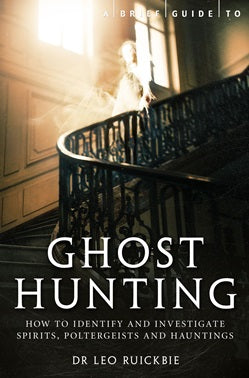 a brief guide to ghost hunting - book, lylliths emporium australia