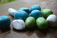 Howlite - White, Blue or Green