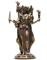 Hekate triple form ~ bronze statue