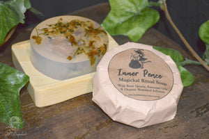 inner peace herbal infused soap