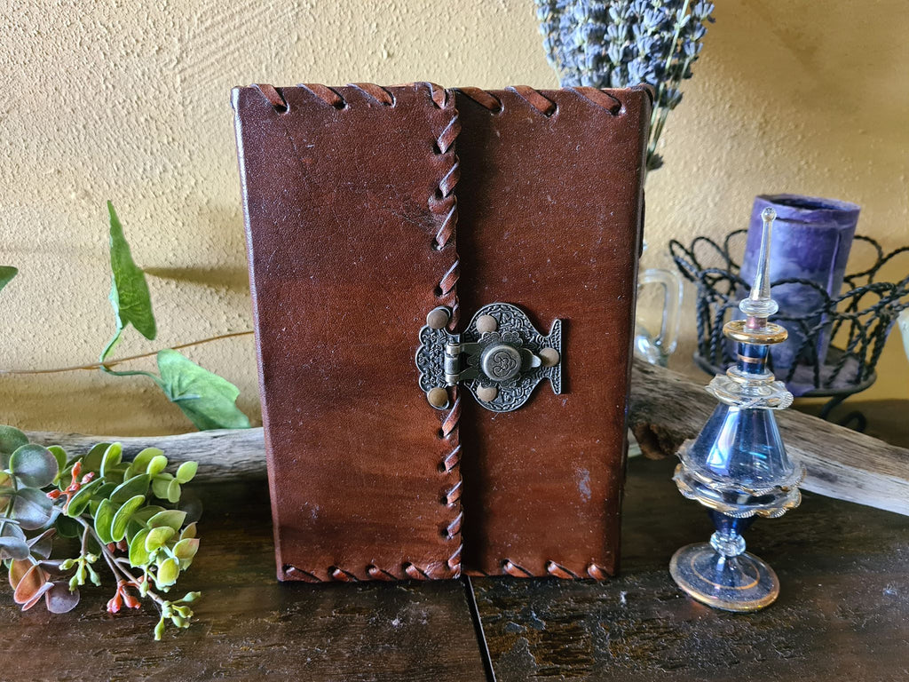 Leather Journal ~ Snap Closure