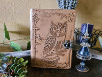Leather Journal ~ Owl #2