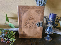 Leather Journal ~ Triquetra