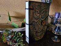 Owl Journal ~ no leather