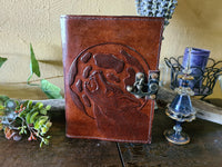 Leather Journal ~ Wolf Moon