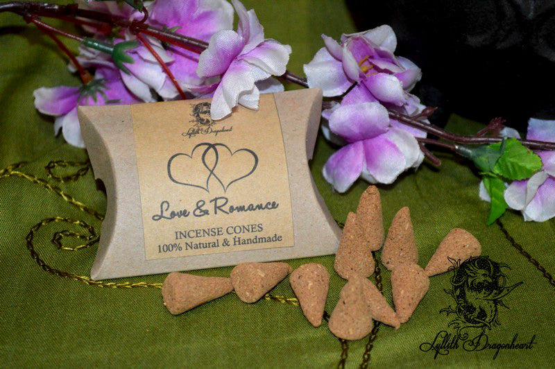 Love, Lust & Romance Incense Cones