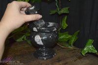 Small Marble Mortar & Pestle
