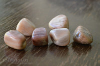 Peach Moonstone tumbled
