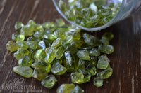 Peridot - small polished stones