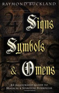 signs symbols and omens book, Raymond Buckland -  Lylliths Emporium, wicca pagan witchcraft spiritual supplies Australia