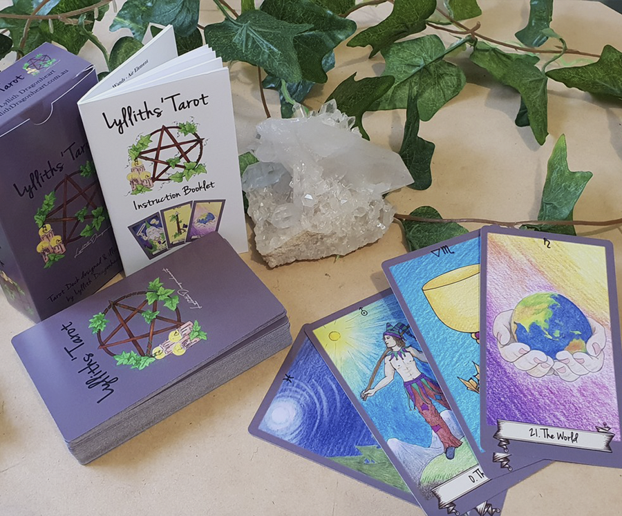 Lylliths Tarot - self published tarot deck by Lyllith Dragonheart