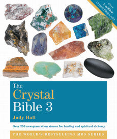 crystal bible #3, Judy Hall, crystals -  Lylliths Emporium, wicca pagan witchcraft spiritual supplies Australia