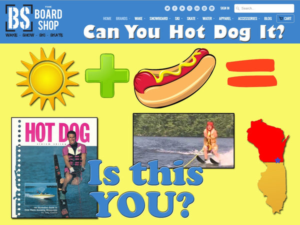 77 Sunny Days + 1 Lake = Hot Dogs, WHAT???