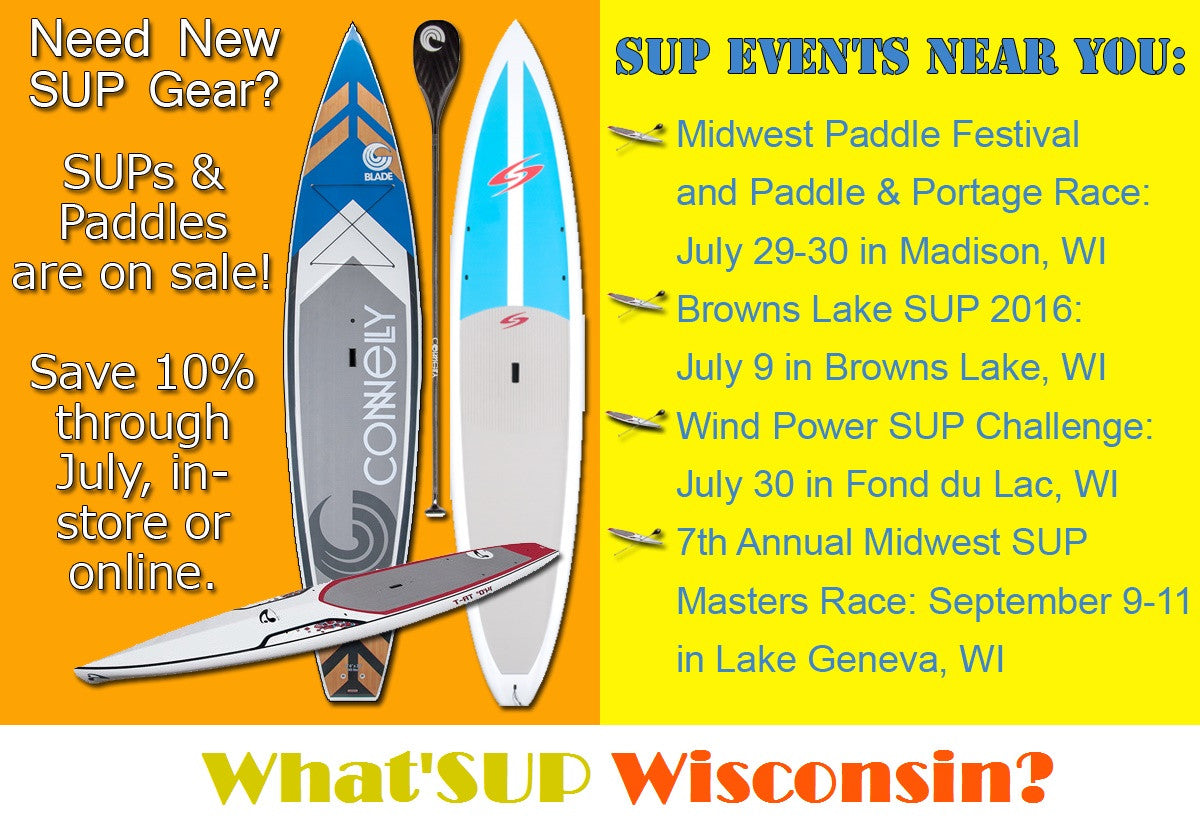 What'SUP Wisconsin? SUPformation - Part 2
