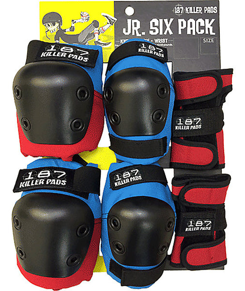 187 Killer Pads Jr. Six Pack