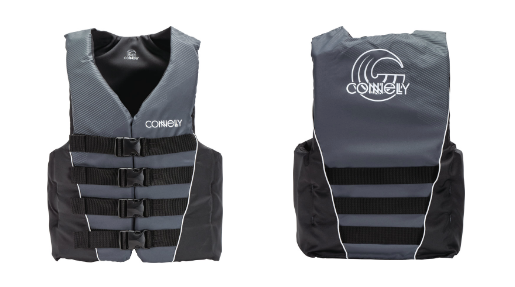 MENS 4-BELT NYLON VEST