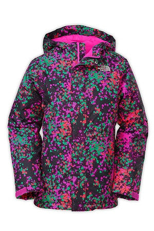 Girl's Insulated Violet Jacket