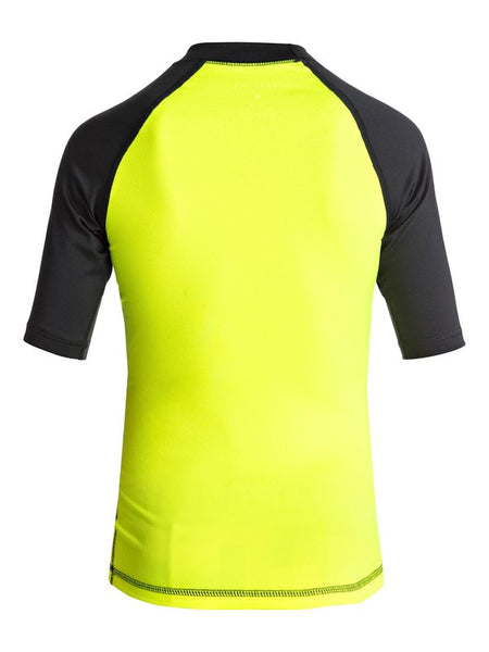 Boy's 8-16 Active Short Sleeve Rashguard
