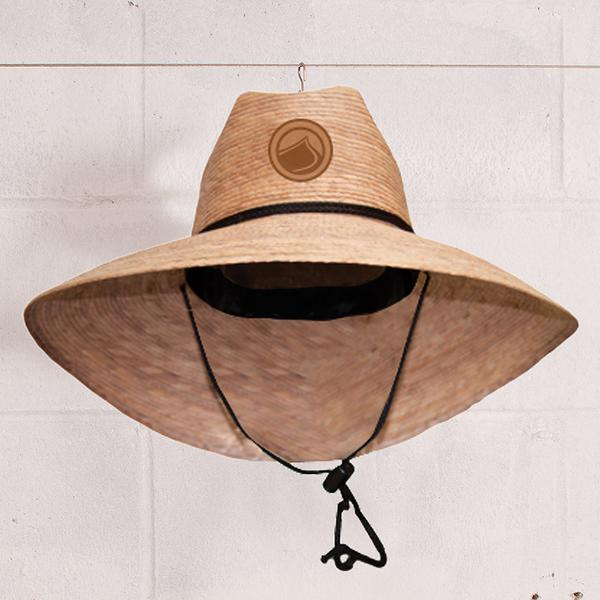Traditional Straw Lifeguard Hat