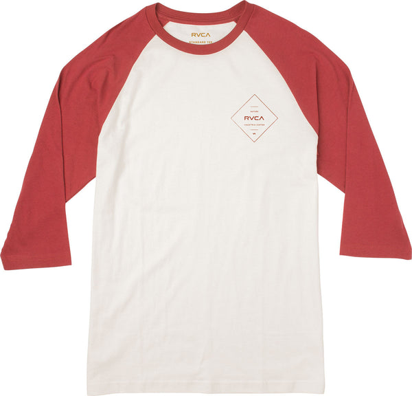 PRESS RVCA RAGLAN T-SHIRT