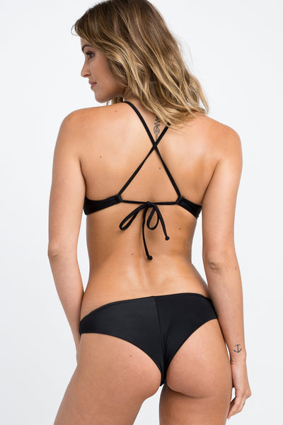 Solid Cross Back Top