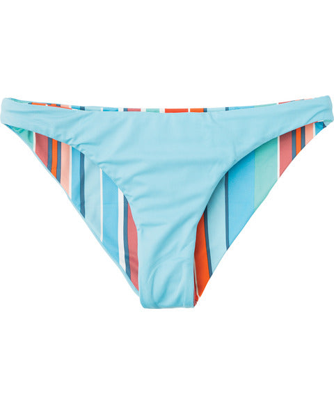 Horizon Reversible Stripe Medium Bikini Bottoms