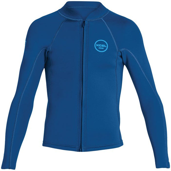 Youth Axis 2/1mm Front Zip Wetsuit Jacket