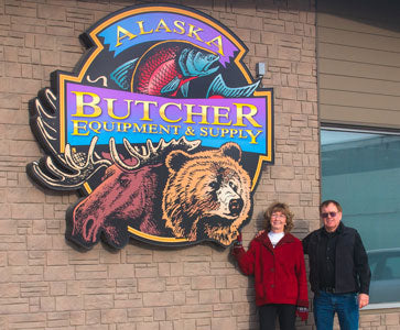 Butch and Barbara Hawley the Owners of Alaska Butcher Equipment & Supply