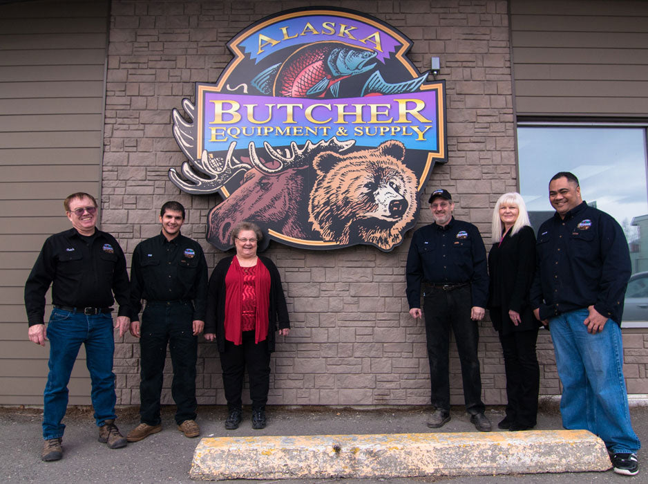 The Alaska Butcher Equipment and Supply Team