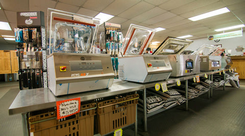 Vacuum Packing Machine- Chamber Machines for sale at Alaska Butcher Equipment and Supply