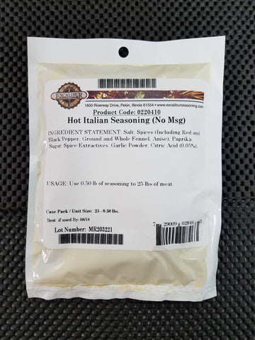 Hot Italian ( NO MSG ) Seasoning