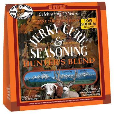 LOW SODIUM HUNTERS BLEND JERKY SEASONING