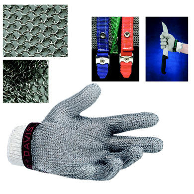 Metal Mesh 5 Finger Gloves - Whiting & Davis