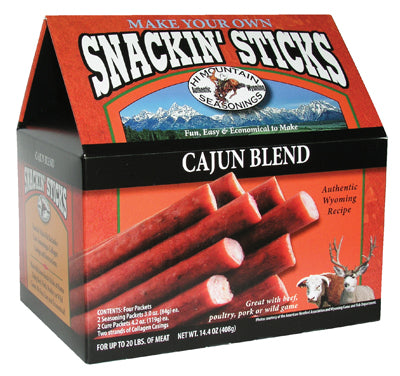 CAJUN BLEND SNACK STICK SEASONING