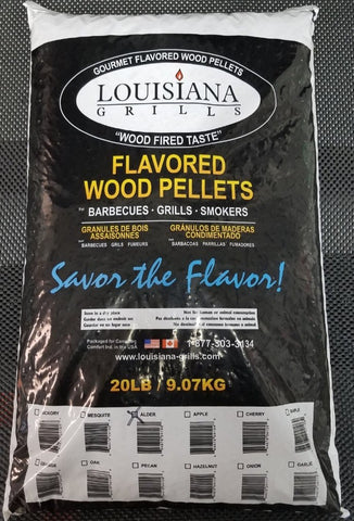 Flavored Wood Pellets 20LB Bags
